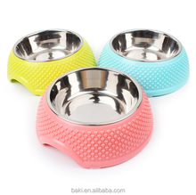 High Quality Plastic Wholesale Pet Feed Dog Bowl Pet Dishes