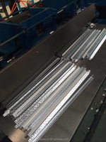 Grooved ceiling steel t-bar size/ stainless steel t-bar