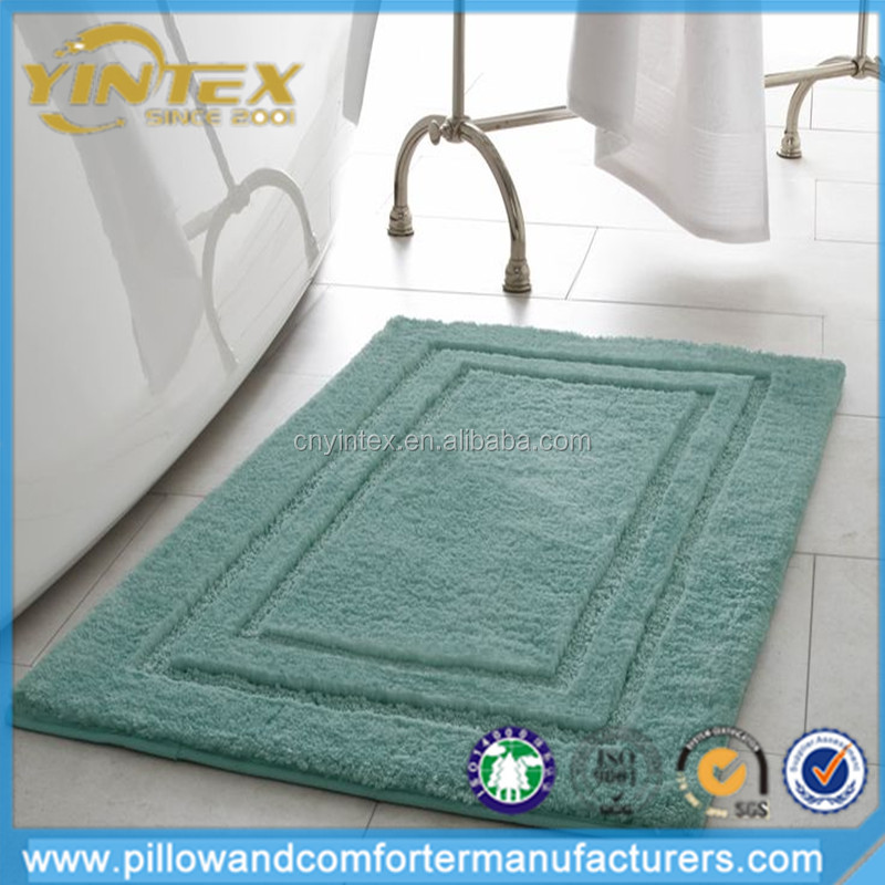 High Quality Flannel Memory Foam Bathtub Shower Bath Mat with Non Slip Support