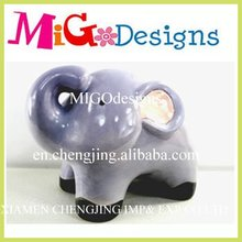 2012 new animal ceramic elephant coin bank