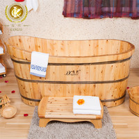 kx-31 portable bathroom wooden bathtub for family massage