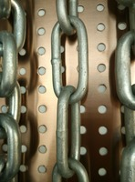 Manufacture high quality welded mild steel long link chain