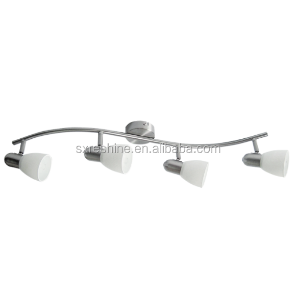 surface mounted ceiling LED spot 4 lights E14 fitting 4*5W