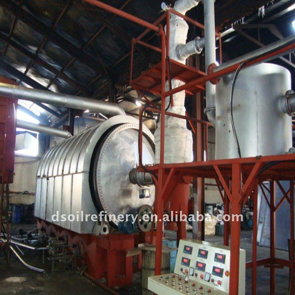 used tyre refining machine without pollution