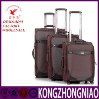 2016 fashion design and colorful travsparent clear super light four wheel luggage