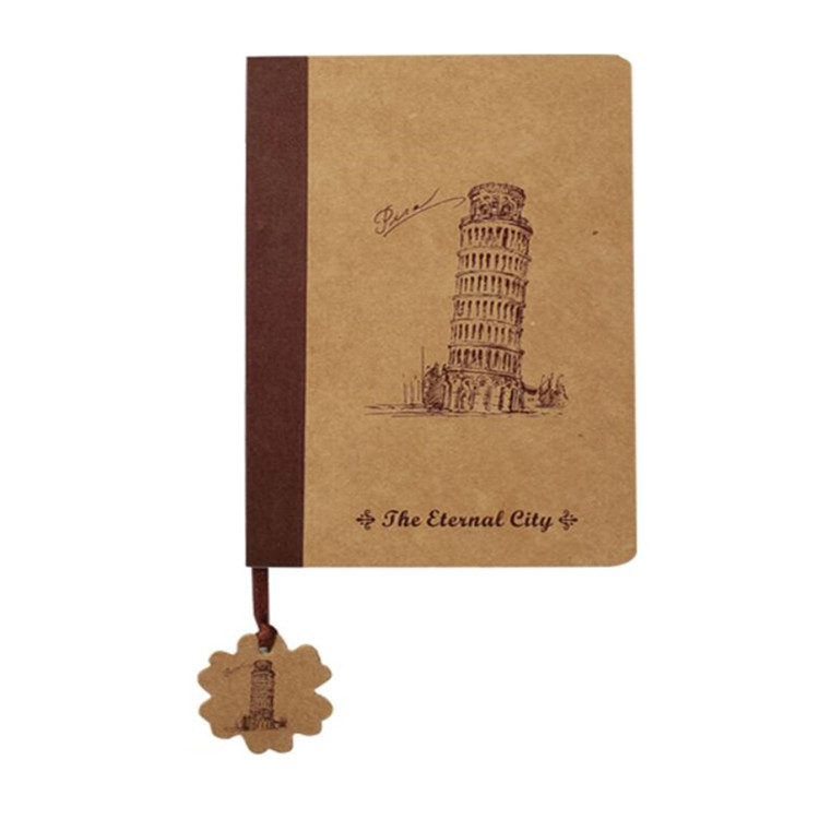 Hot Products 2019 Plain Journey Travelers Kraft Notebook