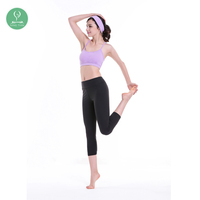 Tight compression sublimation women seamless sports wear wicking butt lift yoga pants leggings