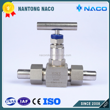 High Pressure Stainless Steel Butt Weld Swagelok Needle Valve