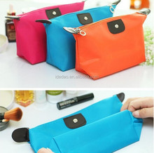 Fashion promotional cosmetic storage bag makeup bag cases ladies zip lock cosmetic bag