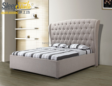 practical hydraulic type modern back designs of wooden beds/lift storage bed frame