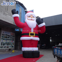 Christmas Decorating Giant Inflatable Santa Clause with Lighting
