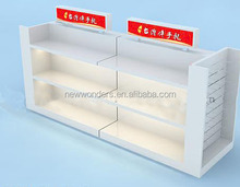 4 sides Wooden display stand wooden furniture showcases for mobile phone