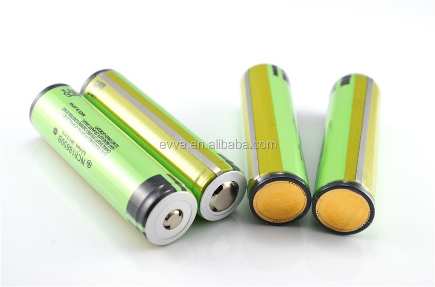 Li ion 18650 3400mah Battery with PCB for NCR18650B