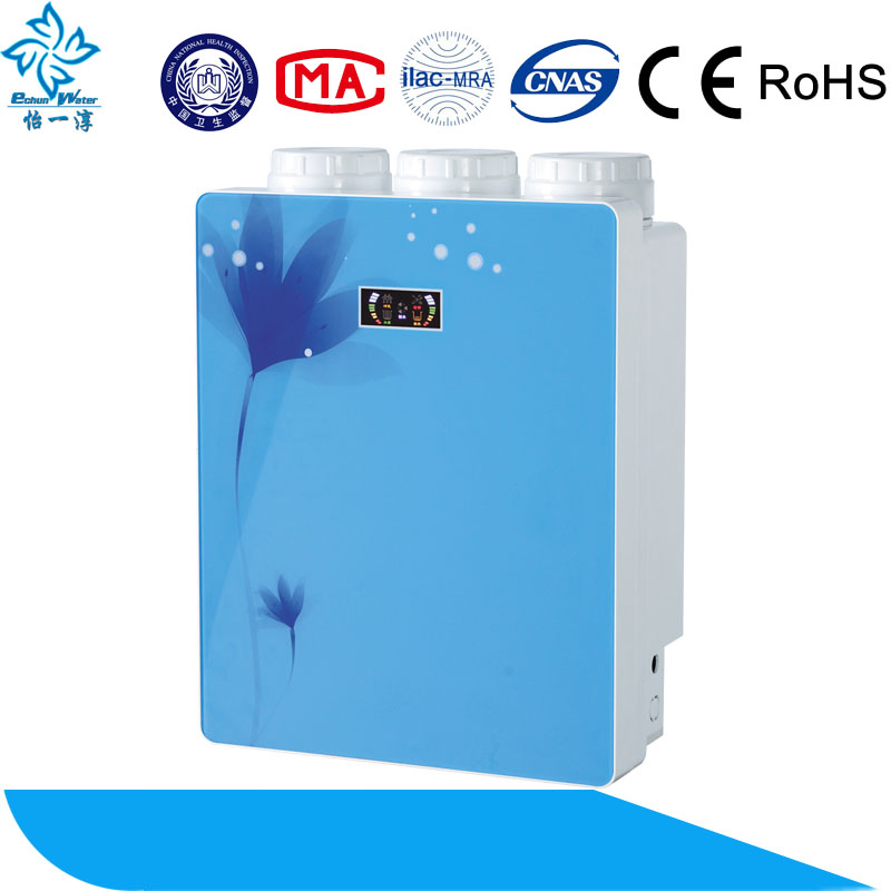 portable water purifier ro with pump hot selling electronic control water filter system
