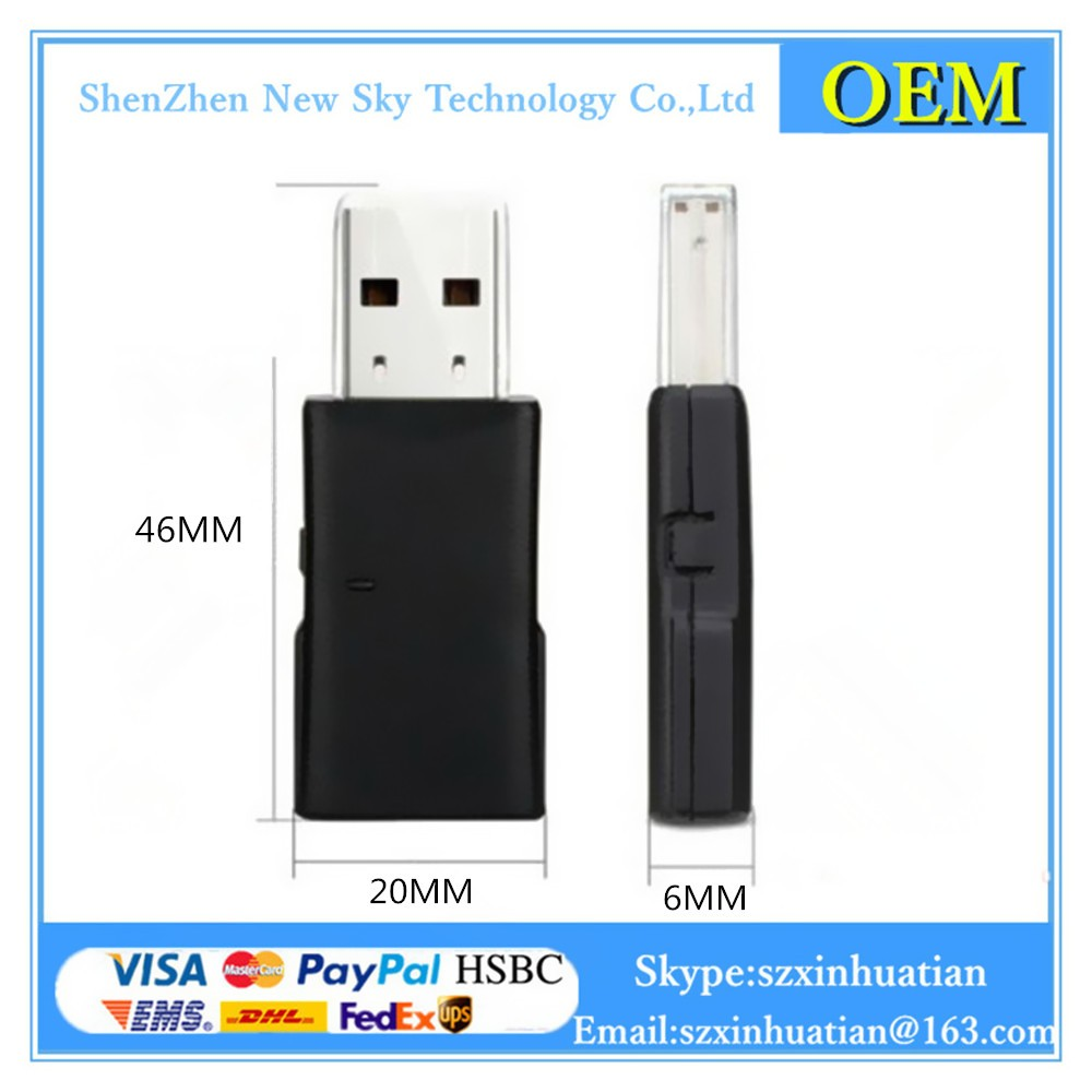 RT5372 2.4G 2T2R 300Mbps Wireless USB Lan Adapter Wifi Dongle USB