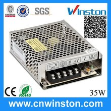 S-35-15 35W 15V 2.4A newest promotional power supply 13.8v 20a