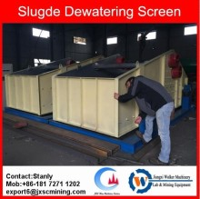 dewatering screen for wet sand, wet minerals