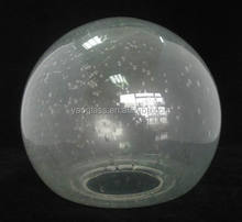 deorative clear bubble glass lamp shade