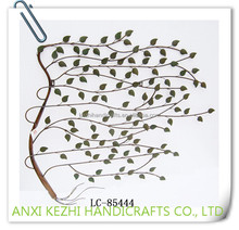 LC-85444 popular wholesale 3D wall art iron willow tree home hanging decor