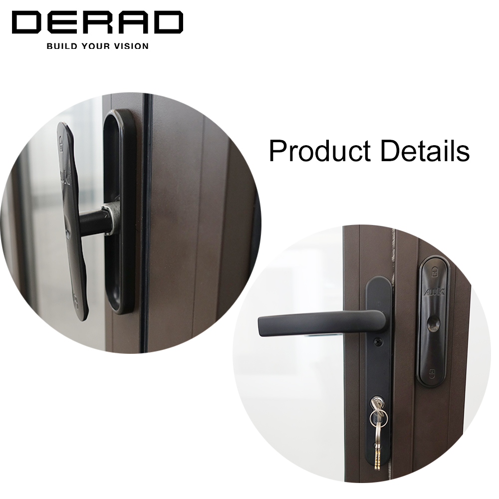 German Hardware Thermal Break Aluminium Folding Patio Doors Buy