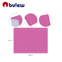 Art Supply 45x60 PINK/PURPLE GREEN/BLACK Professional Self Healing 5-Ply Double Sided Durable Non-Slip PVC Cutting Mat