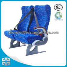 Inclinable bus seats