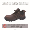 pu injection contruction\steel toe \genuine leather upper safety shoes s1 s2 s3 sb sbp available en iso9001 20345:2013