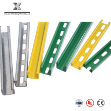C and U Shaped Perforated Galvanized Steel Profile Strut Channel