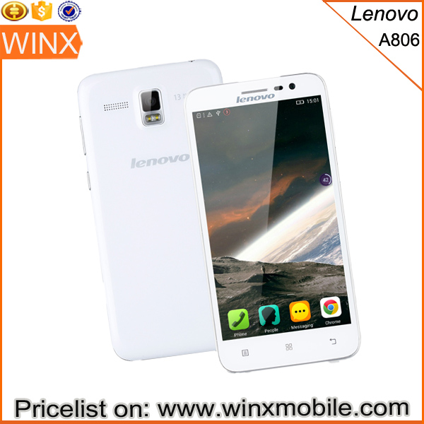 Lenovo A806 Lenovo A8 mobile phone best price on alibaba