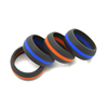 Fashion Couples Silicone Finger Ring Men Wedding Band