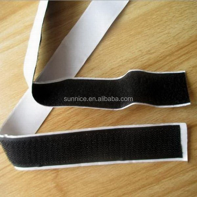 Excellent quality new arrival iron buckle magic tape lanyard