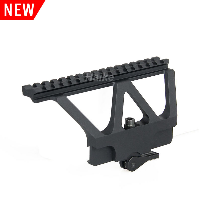 22-0231 New Tactical Military Hunting Midwest Industries AK Gun Rail Quick Detach Scope Mount Base Picatinny Side Rail Mount