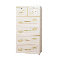 New Style Baby Plastic Cabinet, Plastic Drawer Cabinet