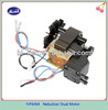 Dual voltage air compressor nebulizer motor