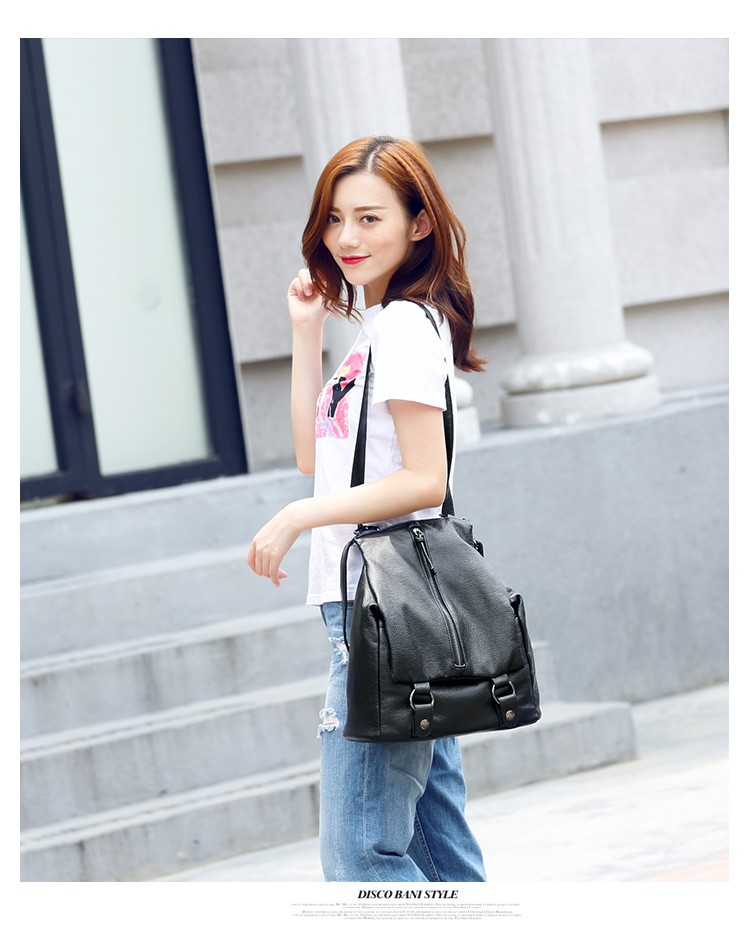 2017 Fashion High School Back Pack Bag lady Backpack