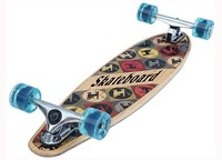 Hot-sale Bamboo and maple wood Longboard