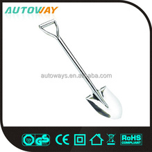 Long Handle professional aluminum snow shovel