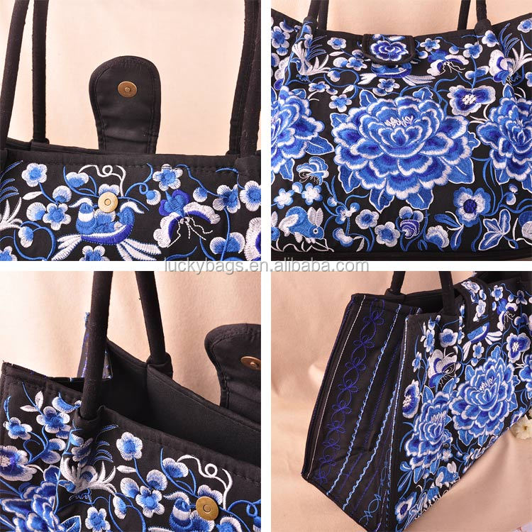 Fashion Cotton Shoulder Bag Tote Bag for Women