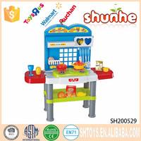 Plastic kids set kitchen tool toys 2017