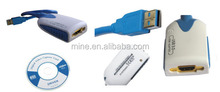 USB3.0 2HDMI/VGA external usb graphics card
