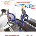 WPC decking profile extrusion machine