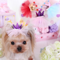 Cute Hair pet accessories bows For Small Dogs Wholesale