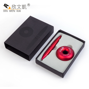Hot Sale Travel Gift Souvenir Fashion Design Red Color Ballpoint Pen Set