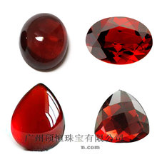 Wholesale Prices Various Shape Available Natural Red Garnet Gemstone