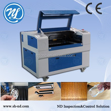 mylar stencil laser cutting machine laser machine for processing nonmetal NDJ-6090-100W