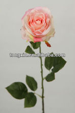 27158N rainbow roses natural looking plantae silk superior quality flower supplier with wholesale price