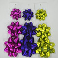 Matte Metallic Gift Star Bow