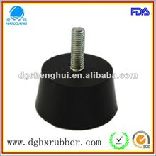 Chinese 2012 hot selling manufacturer made rubber feet with screw M 10 for electronics
