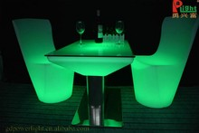 Used home and garden furniture led bar table