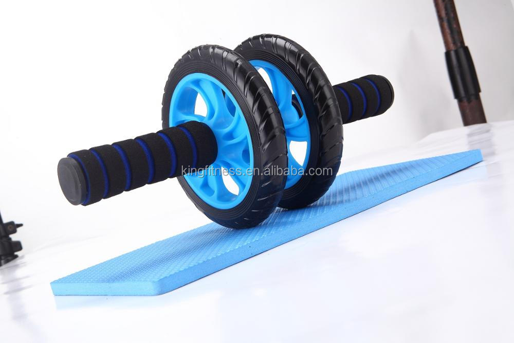 High Quality Fitness Exercise Double Use AB Wheel Roller/AB Roller